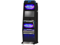 21.5 dual monitor Luxury gambling cabinet